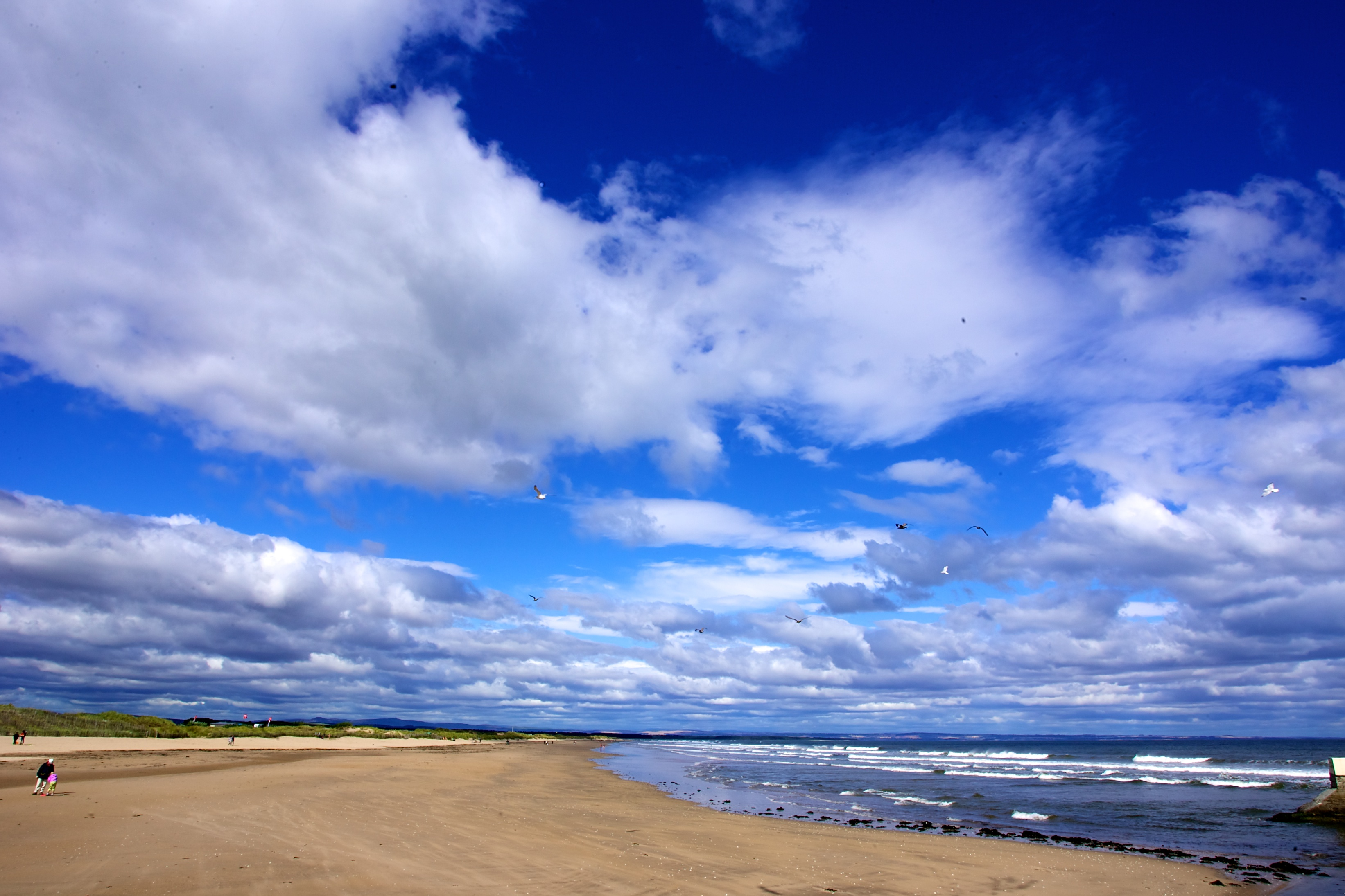 West Sands Beach, St Andrews, Scotland
