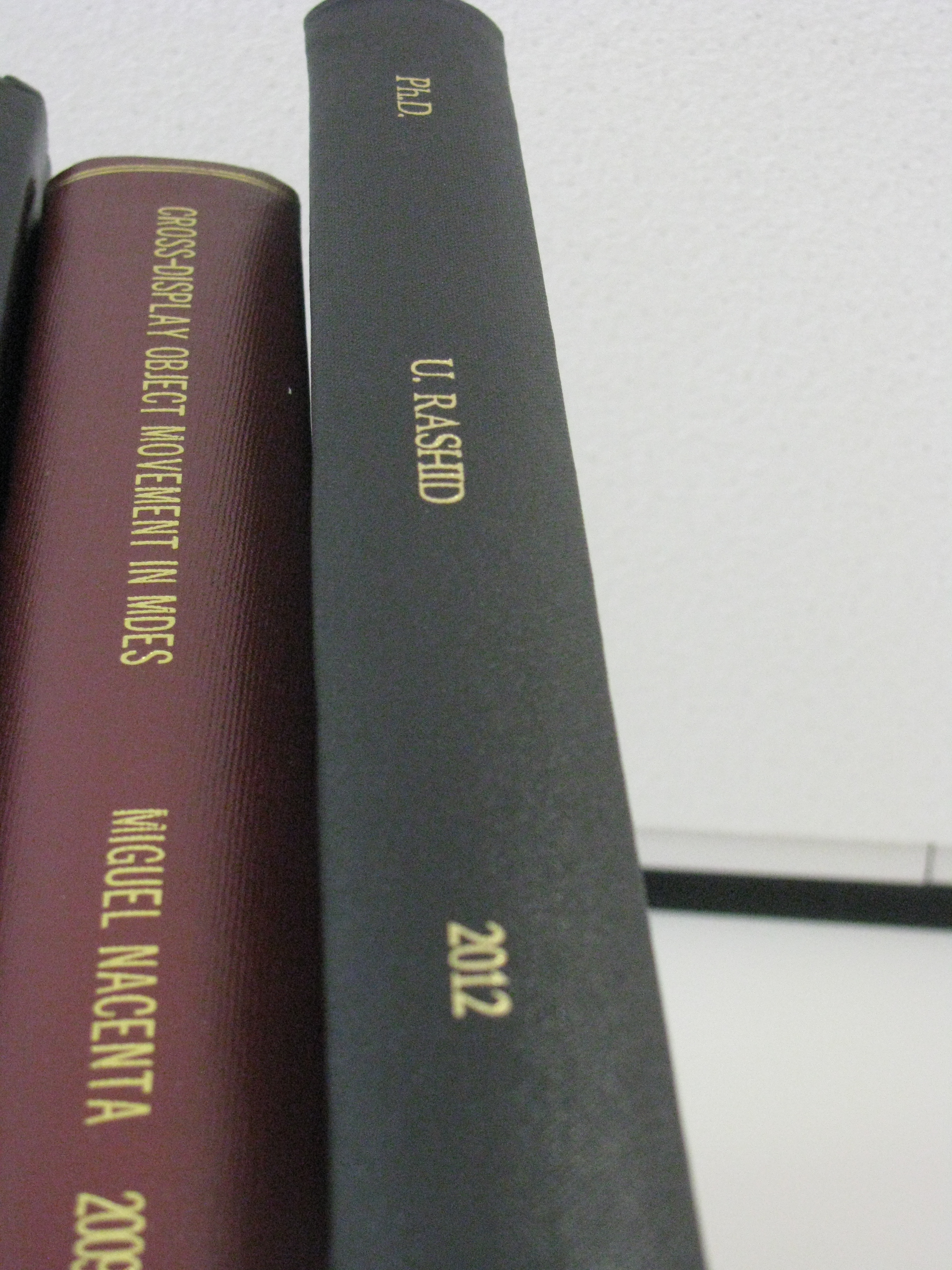 Phd thesis copies
